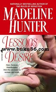 Novel Import Lesson of Desire Madeline Hunter Bekas