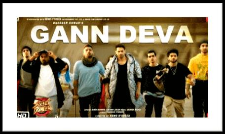 Divya Kumar I Gann Deva Lyrics I Street Dancer 3D