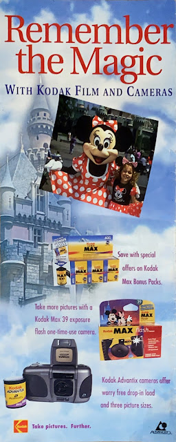 Remember the Magic With Kodak Cameras Disneyland Map