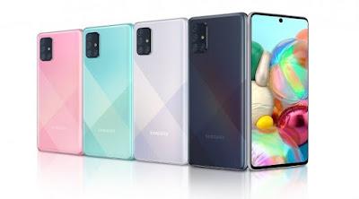 مراجعة هاتف Samsung Galaxy A71 الجديد