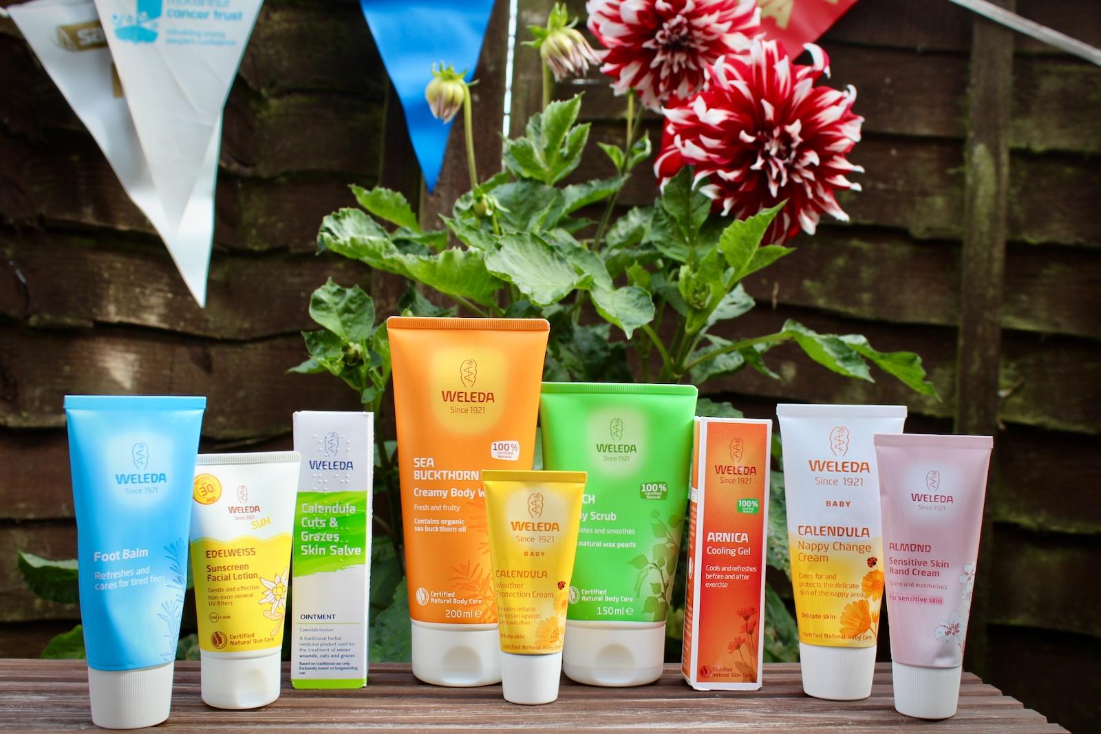 Weleda Natural Skincare for Sportspeople