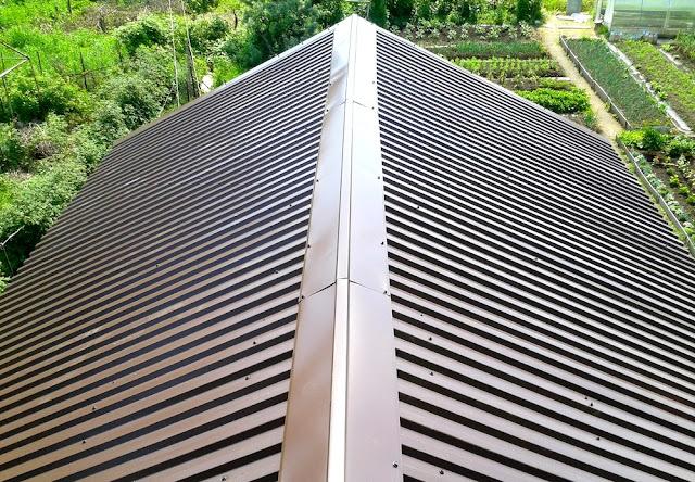 дача покрытие крыши
