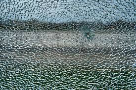 Broken Triplex Glass