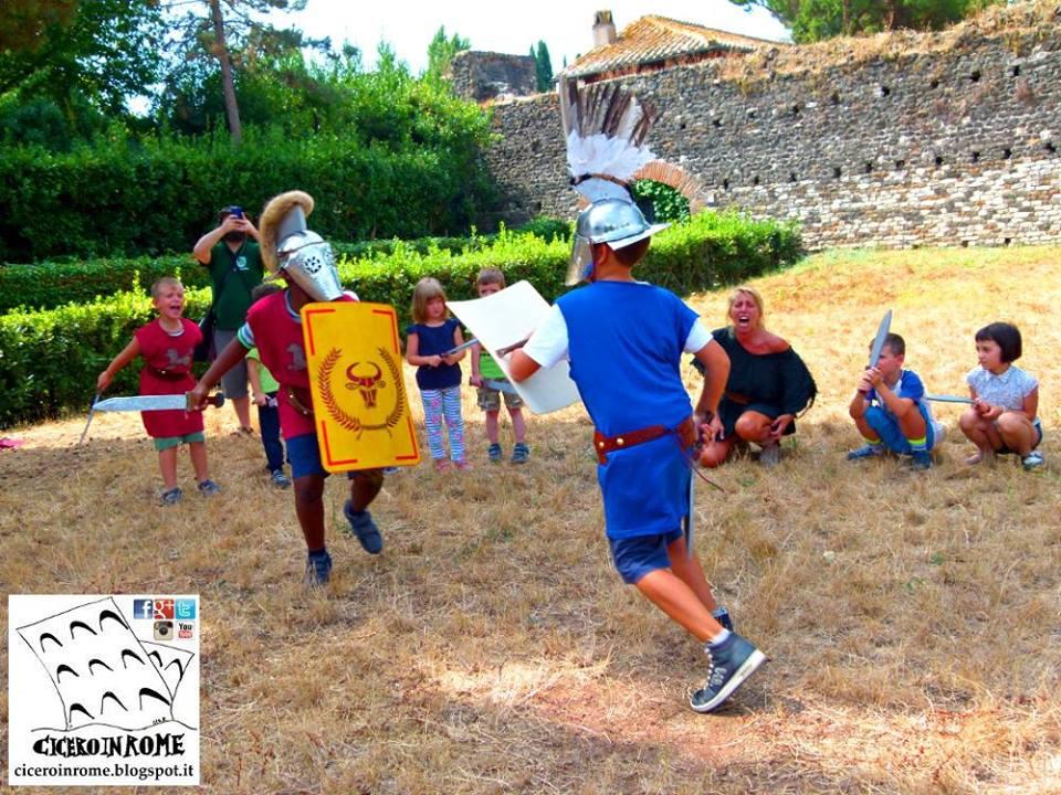 Bambini: La Scuola dei Gladiatori. Attività Didattica