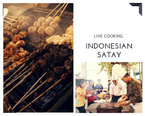 Indonesian Satay Hotel Cakra Kusuma Yogyakarta