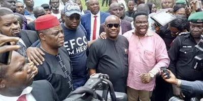 Fayose's Interrogation By Senior EFCC Officers Begins