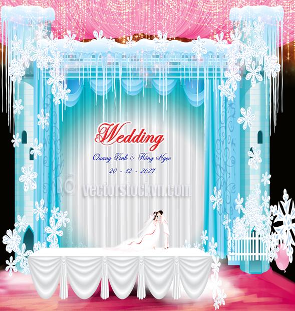 Phông Trang trí đám cưới