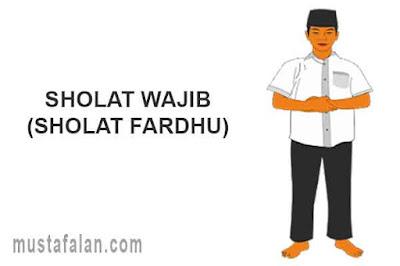sholat wajib atau sholat fardhu