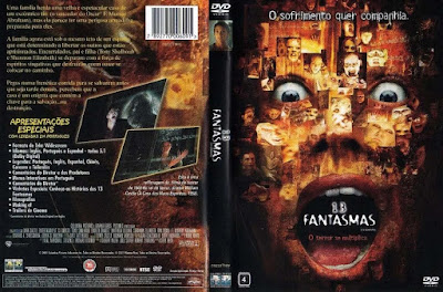 Filme 13 Fantasmas (13 Ghosts - Thirteen Ghosts - Thir13en Ghosts) DVD Capa