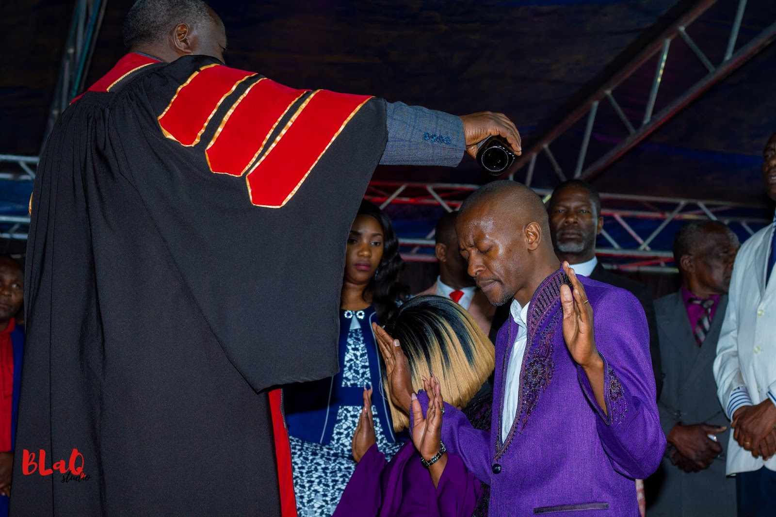 Apostle Jonas Quembo Congratulates Apostle Pride Sibiya On His Bishopric Consecration