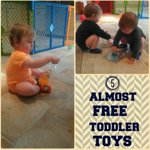 5 Nearly Free Toddler Toys
