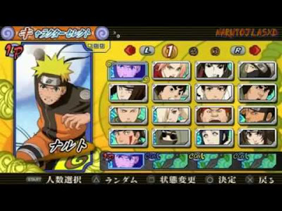 Game Naruto Ultimate Ninja Heroes 3 PPSSPP Android