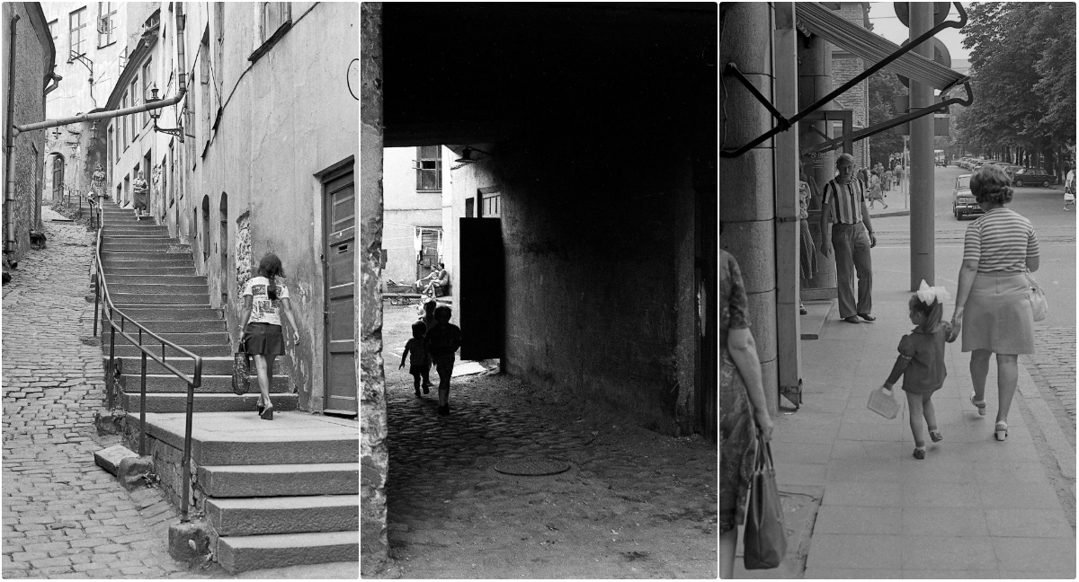 50 Black and White Photos Capture Everyday Life of Tallinn, Estonia in the Mid-1970s