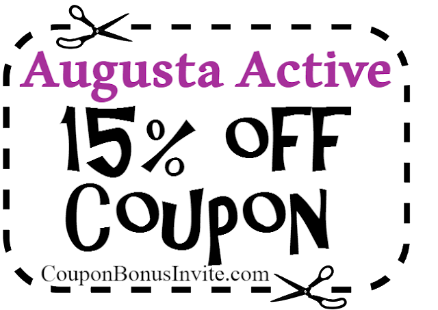 Augusta Active Coupon Code 2017, Augusta Active Free Shipping Coupon, Augusta Active Promo Code 2018