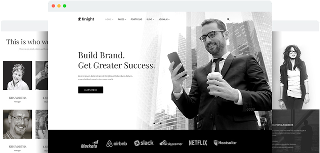 Knight v1.8 - Responsive Joomla Template for Company and Agency Sites