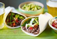 مكونات البوريتوس(بيف) الأصلية Beef burritos
