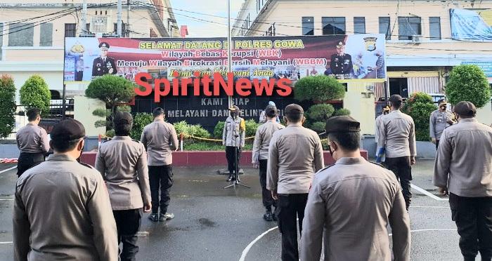 Kompol Nursiah, Pindah Tugas Ke Polres Pelabuhan, Pamit di Apel Pagi