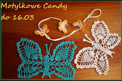 Motylkowe wiosenne Candy!