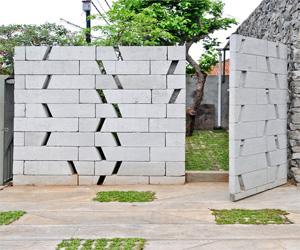 Contoh Model Pagar Rumah Dari Hebel Terbaru  Ala Model Kini