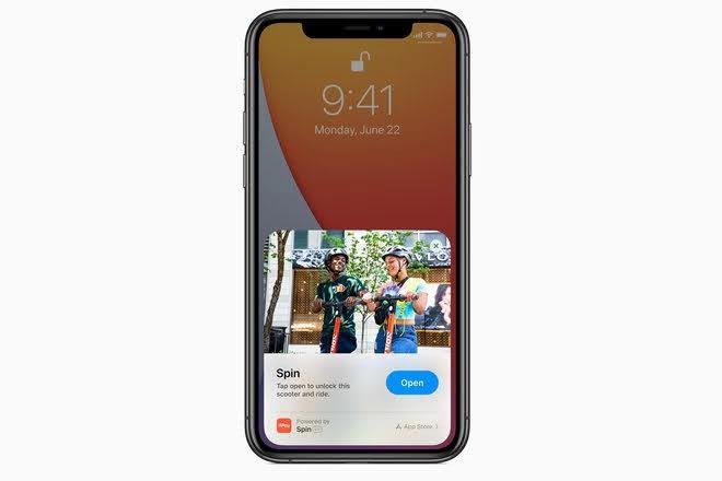 ios 14 app clip 2020