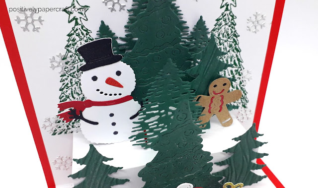 Positivelypapercraft, Pop up Christmas card tutorial