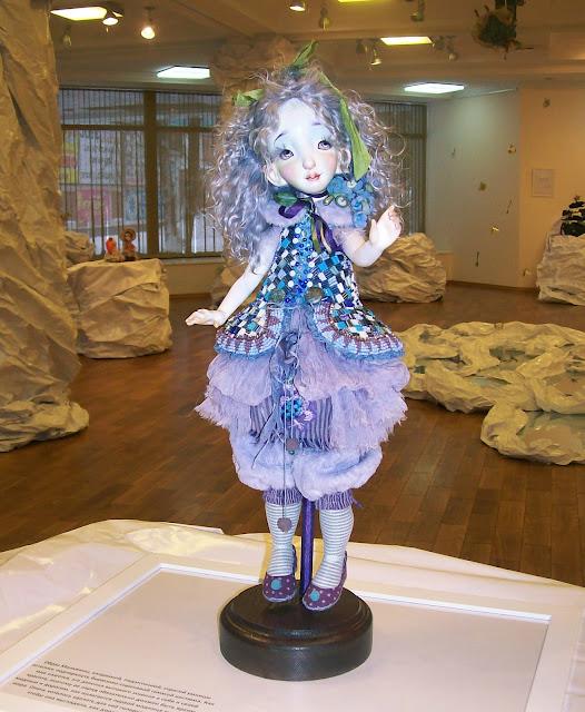 """Выставка авторской куклы в Самаре """"Куклы. Эмоции. Чувства."""", Ксения Мингалёва (п. Усть - Кинельский) """"Мальвина"""""""
