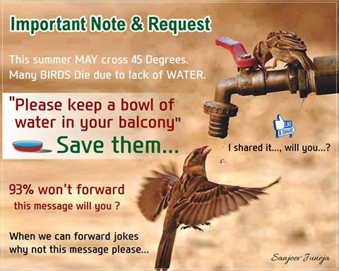 Important Note & Request from Sanjeev Juneja