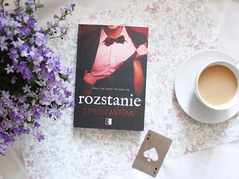 """""""Rozstanie"""" Style Fantôme, drugi tom trylogii The Kane trilogy. Wydawnictwo NieZwykłe."""
