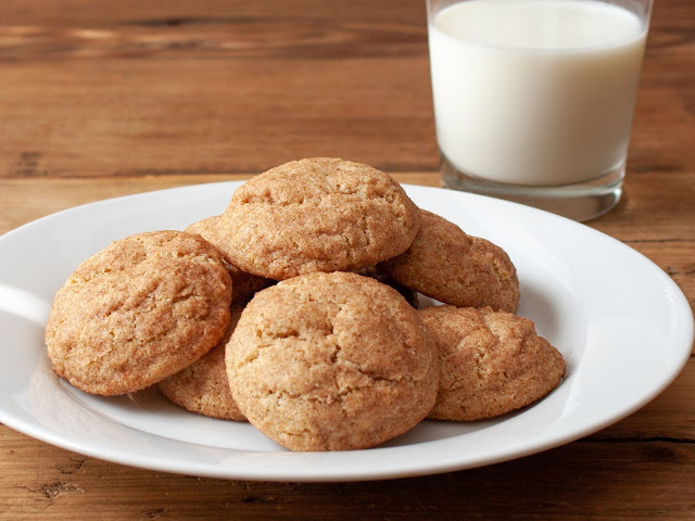 whole grain snickerdoodle cookies by Amy Lamp