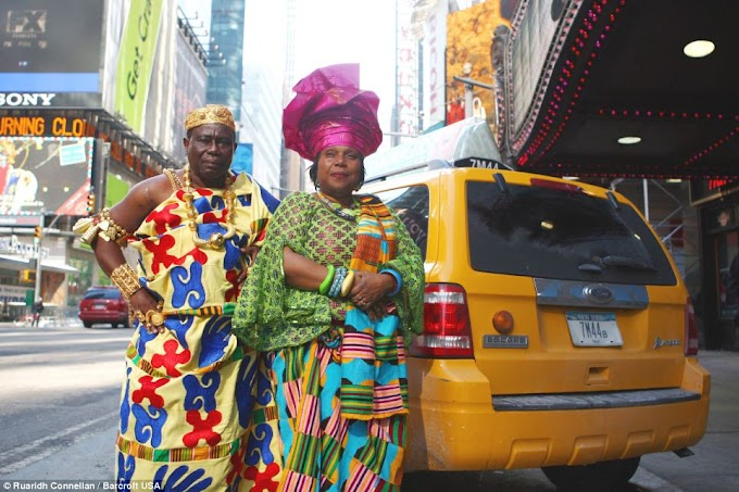 Meet the Ghanaian chief who is a taxi driver in America