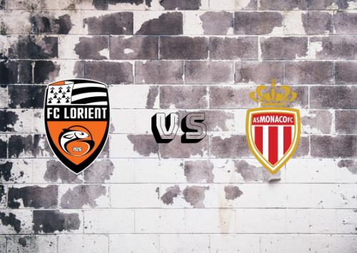Lorient vs AS Mónaco  Resumen