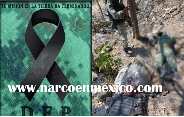 """""""Su misión en la tierra ha terminado"""": Así quedaron Militares muertos y heridos en emboscada de Sicarios en Aguililla, Michoacán"""