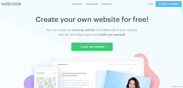 Webnode দিয়ে ফ্রি ওয়েবসাইট তৈরি
