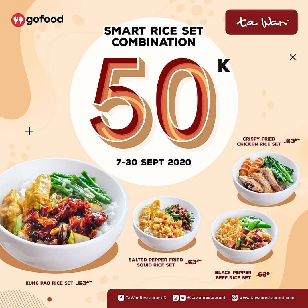 Promo Ta Wan Restaurant Terbaru 7 - 30 September 2020