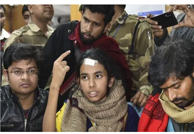 sit query in jnu violence, JNU violence, Aishe Ghosh