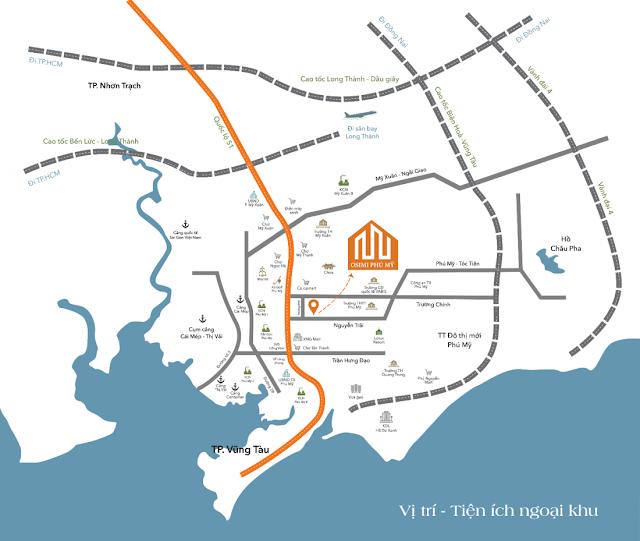 Dự án có vị trí trung tâm, kết nối liên vùng