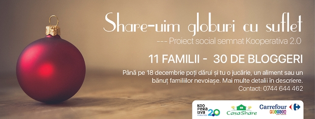 "Proiect - ""Share-uim globuri cu suflet"" - blog FOTO-IDEEA"