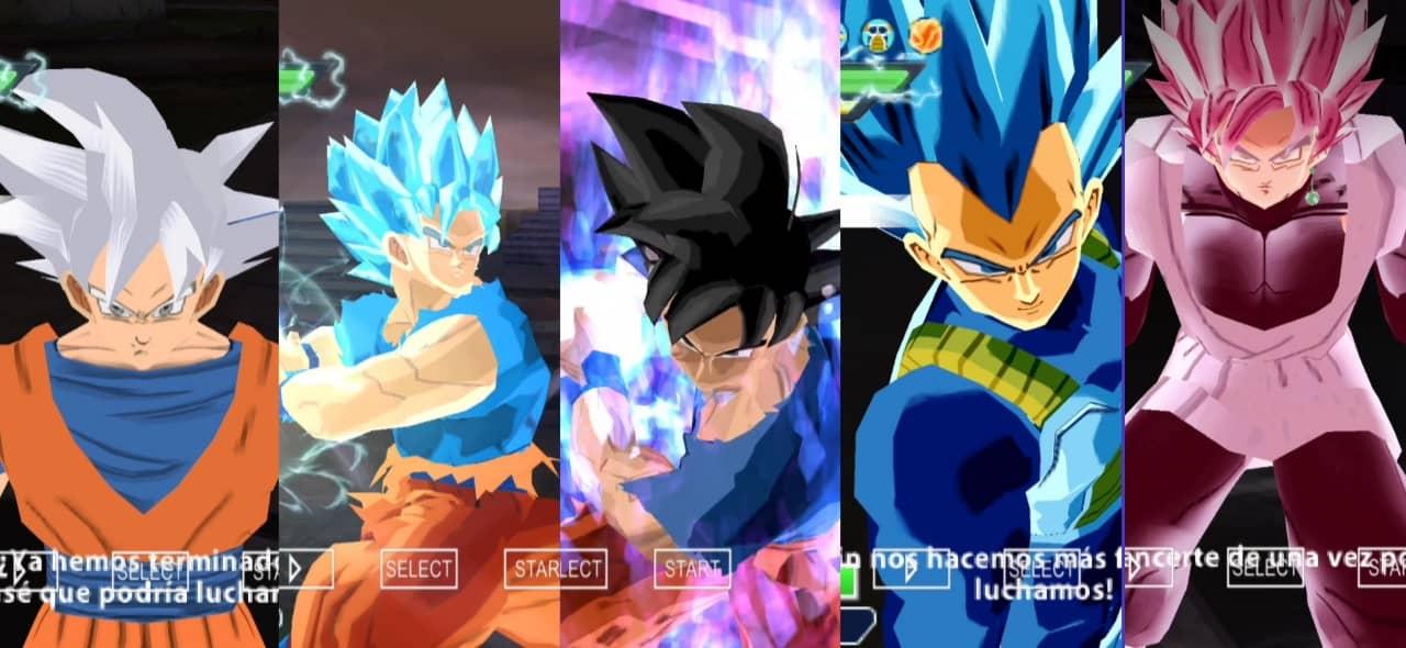 Dragon Ball Super Tenkaichi 3 Mod Goku All Forms