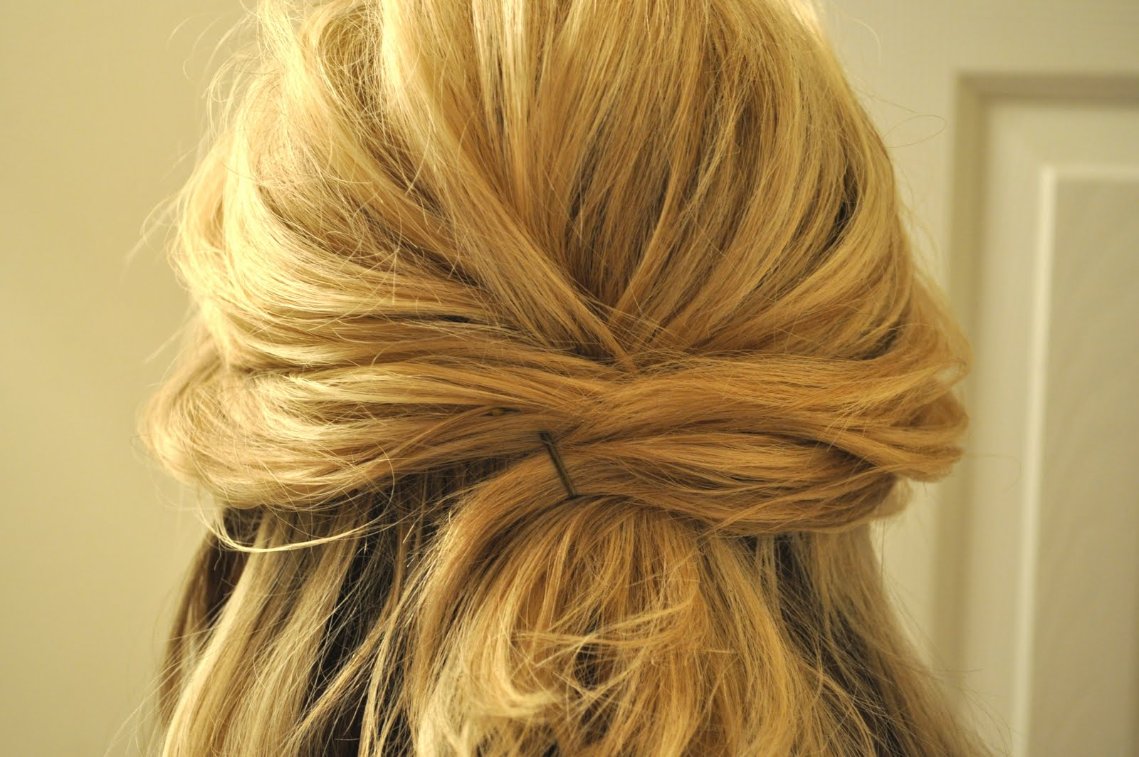 Half Up Half Down Wedding Hairstyles For Medium Length Hair: The Small Things Blog