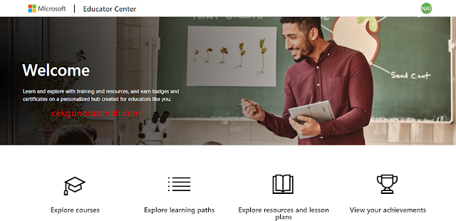 kursus online microsoft, kursus online microsoft educator center, microsoft innovative educator, microsoft innovative educator badge, microsoft education 365, microsoft education free, microsoft education sign up, microsoft learning, online course