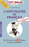 100 خطأ ترتكب كثيراً في اللغة الفرنسية يجب تجنبها للتحميل في كتاب رائع للمبتدئين PDF