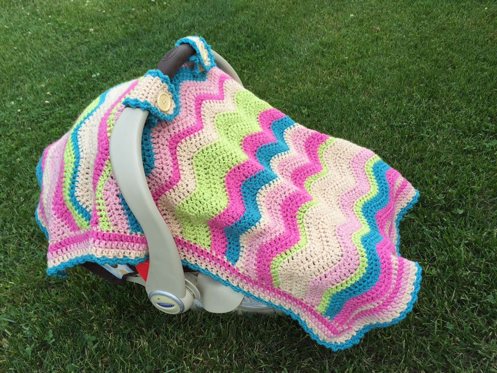 Skein And Hook: Free Crochet Pattern: Emerson Car Seat