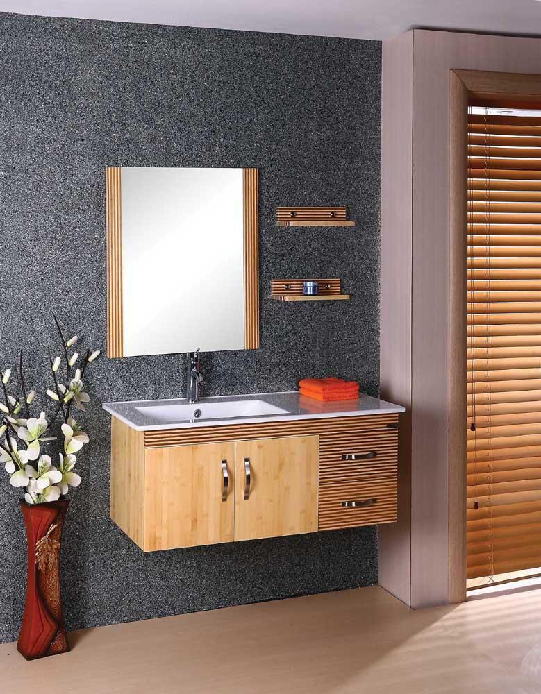 Bamboo Bathroom Vanity Bamboo Craft Photo