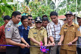 Ferizal Ridwan Buka Program Padat Karya Tunai
