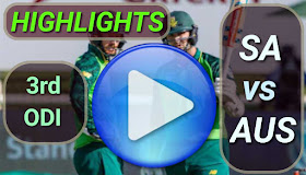 SA vs AUS 3rd ODI 2020