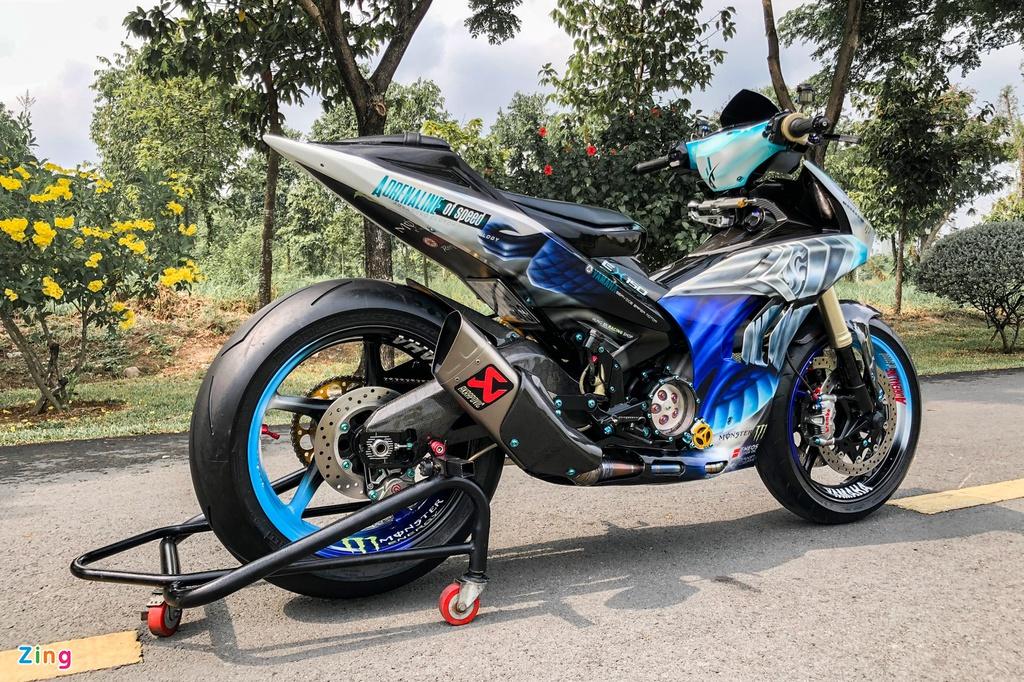 Yamaha Exciter độ phong cách Ducati Panigale V4 của biker Quảng Ngãi