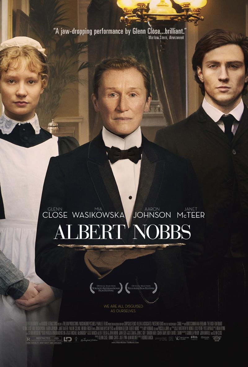 Albert Nobbs, filme de 2012, com Glenn Close