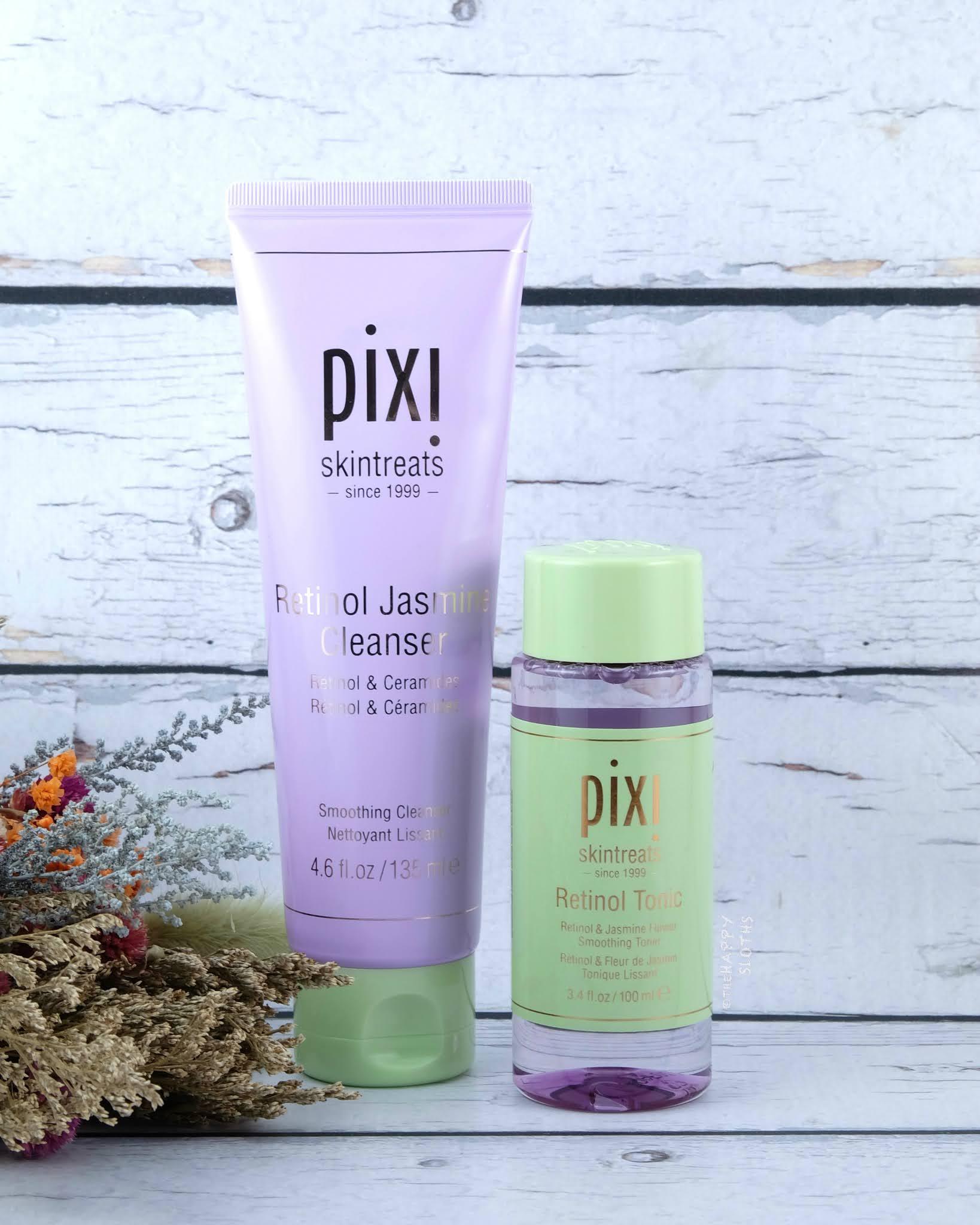 Pixi Beauty | Retinol Jasmine Cleanser & Retinol Tonic