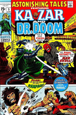 Astonishing Tales #5, Dr Doom vs the Red Skull