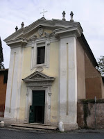 chiesa del domine quo vadis